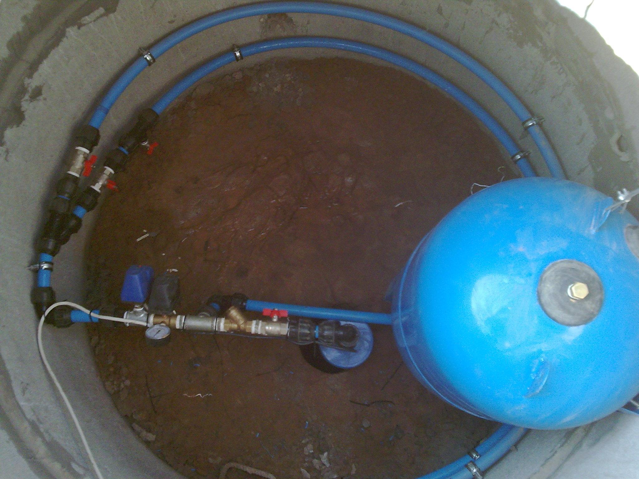 Обустройство скважины бетонными кольцами